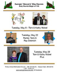 May 2018 Dance Flyer